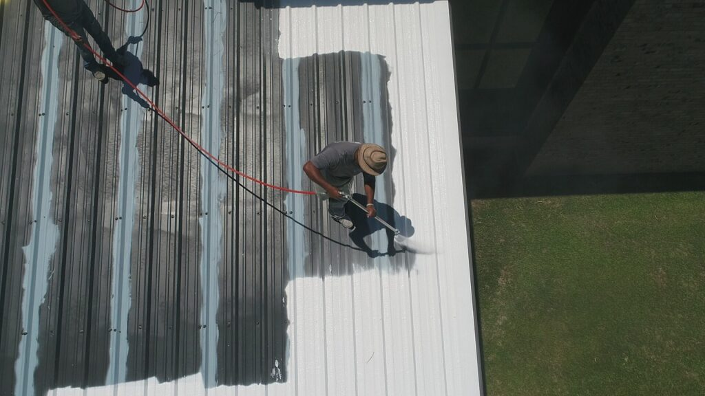 Commercial Roof- Silicon
