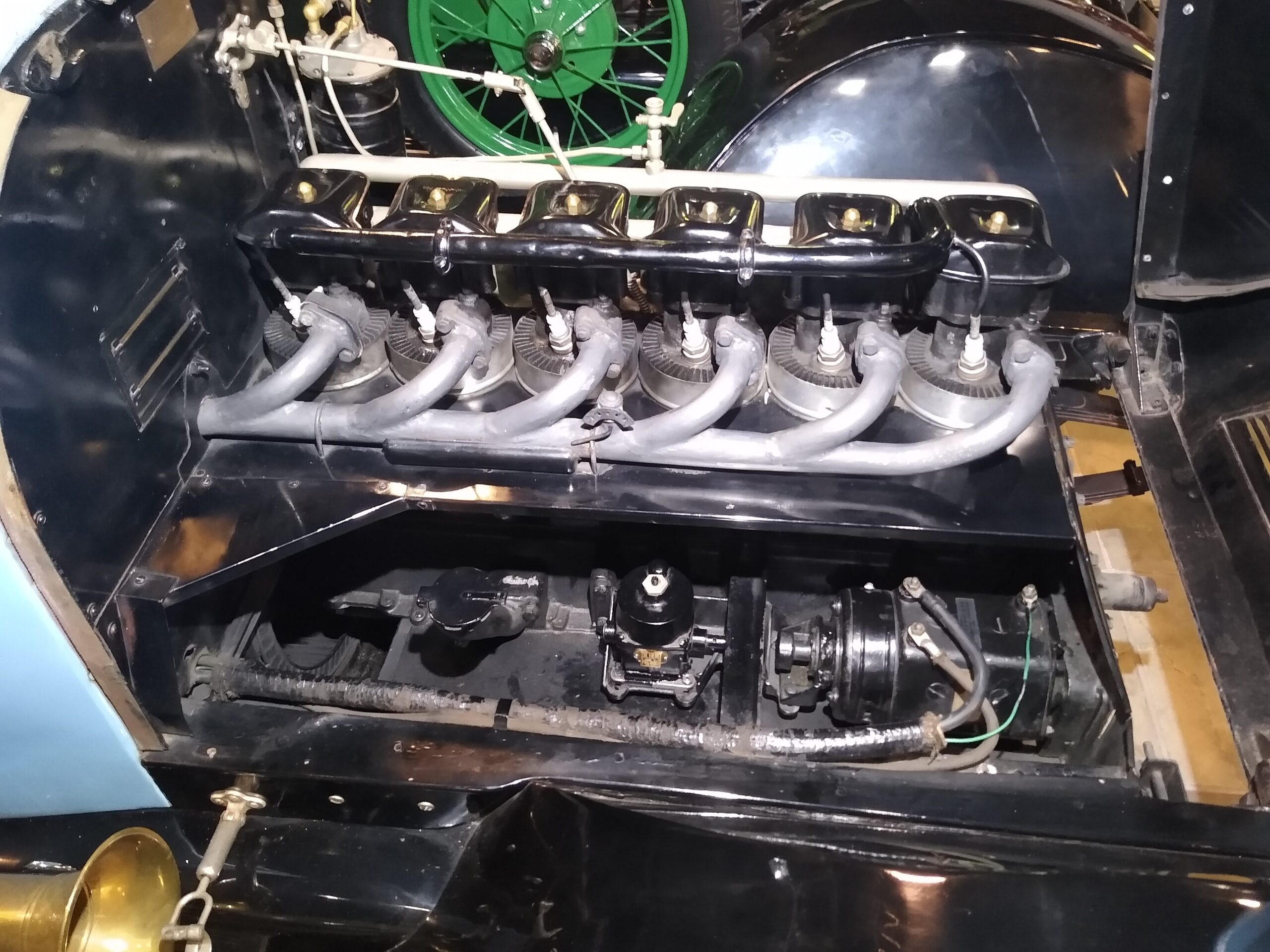 Air Cooled 6 cylinder