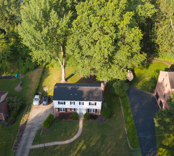 House Photo from Drone
