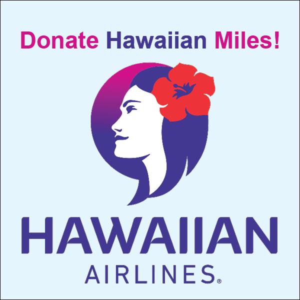 Donate Hawaiian Miles