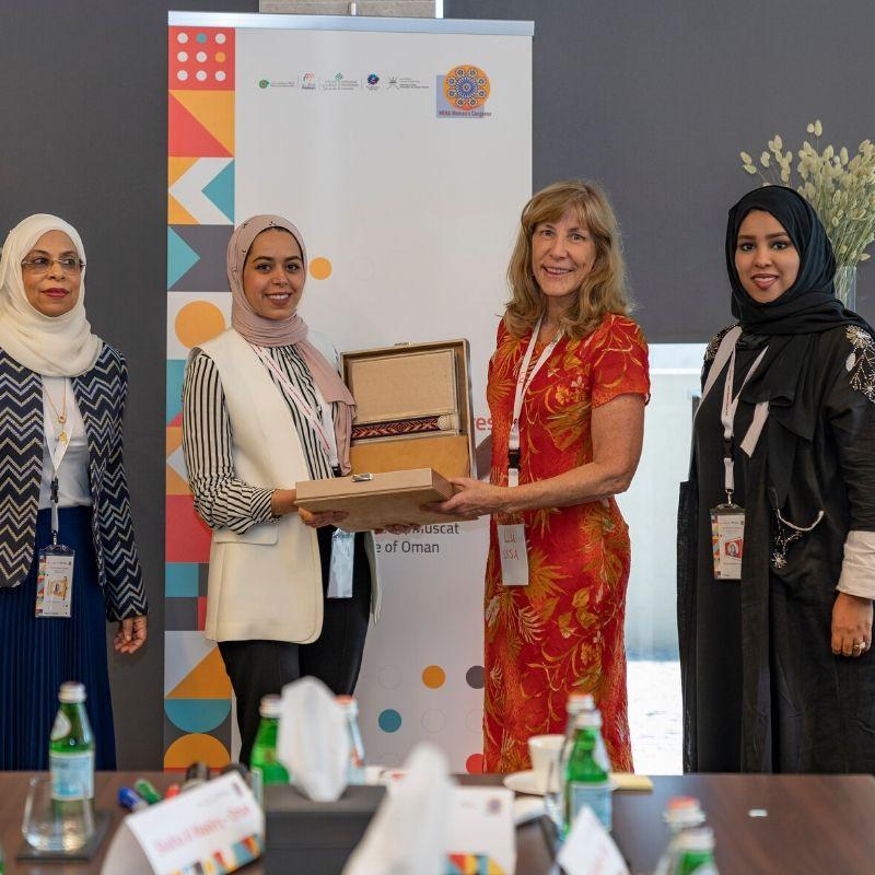 Dania Obeidat Madayn's Award