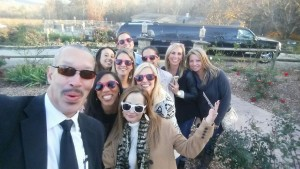 Chauffeur Wine Tour Girls