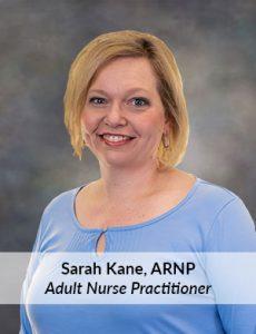 Sarah Kane, ARNP