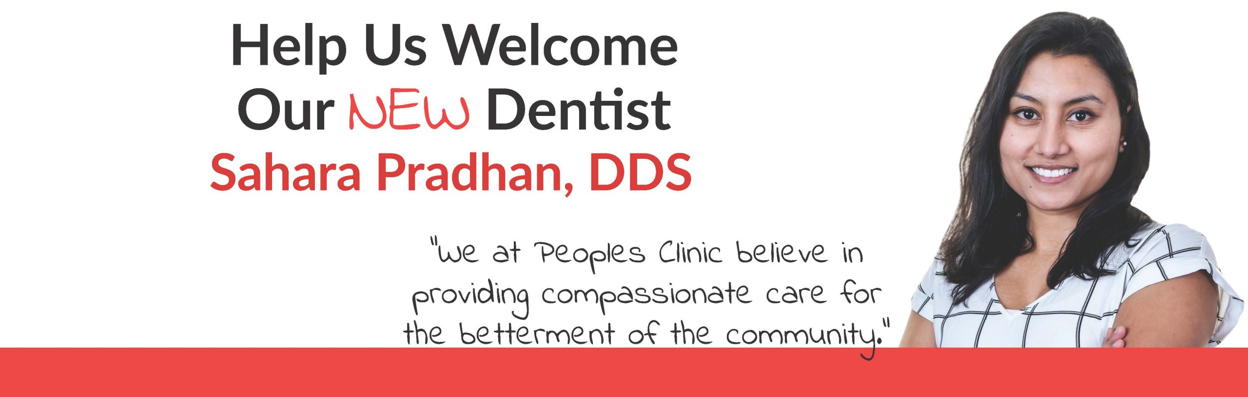 Welcoming New Dentist