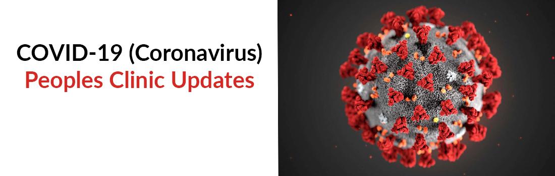COVID-19 Coronavirus Rotating Web Banner