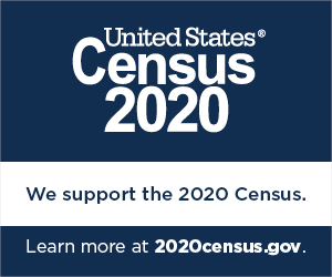 Census 2020 Website Badge