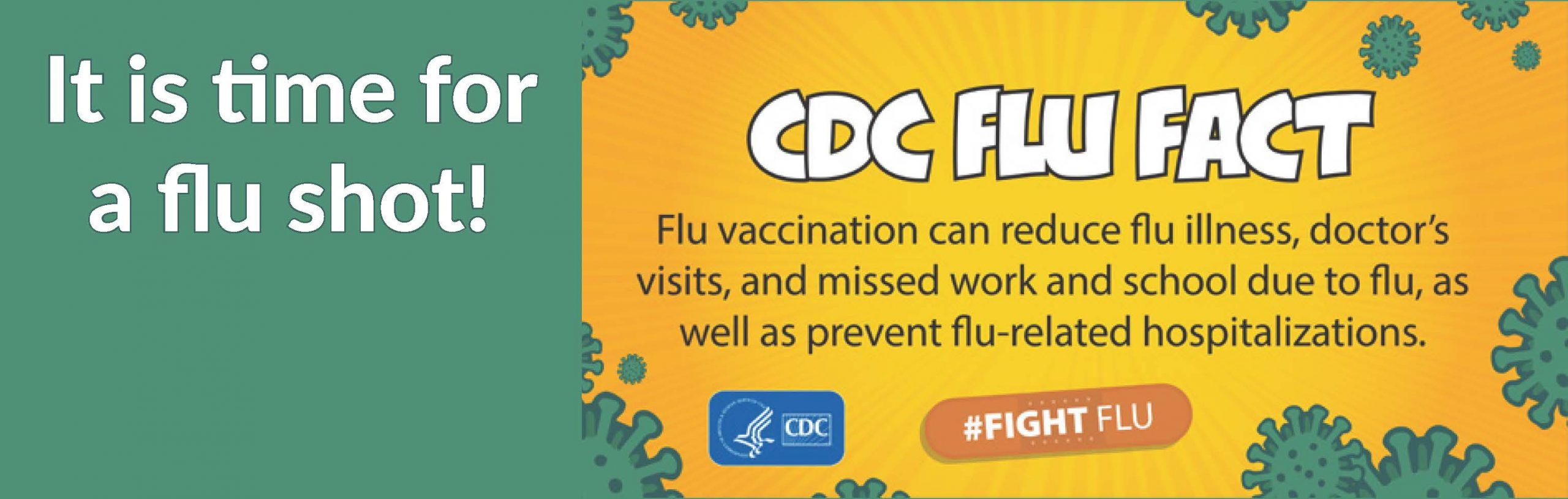 Flu Shot Rotating Web Banner