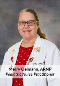 Merry Oelmann, ARNP
