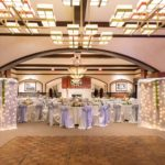Specialty lighting adds the perfect ambiance to any wedding or event.