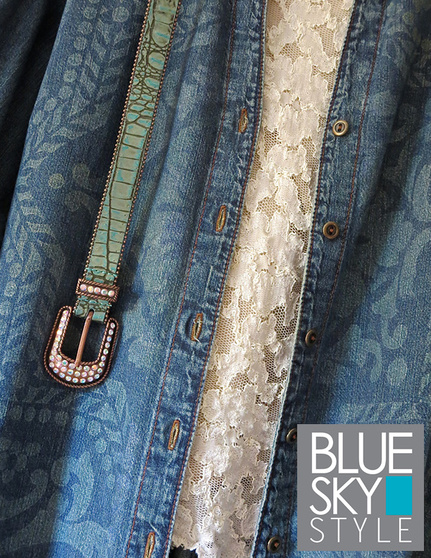 denim, jacket, stenciled, Dischard Paste, Lisboa stencil, Royal Design Studio, project, fabric