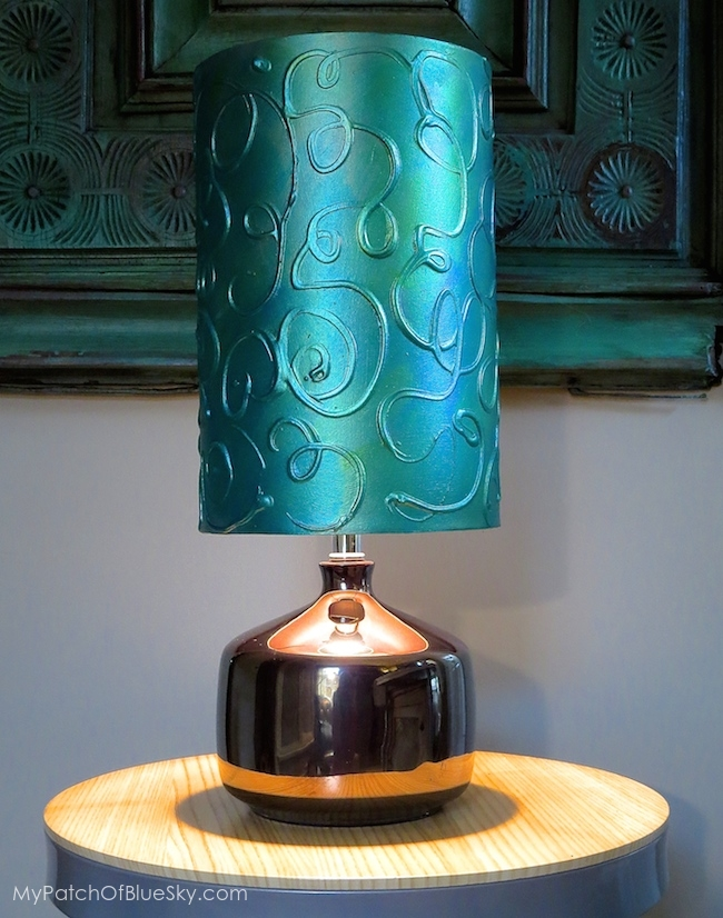 Wood Icing Lamp Shade