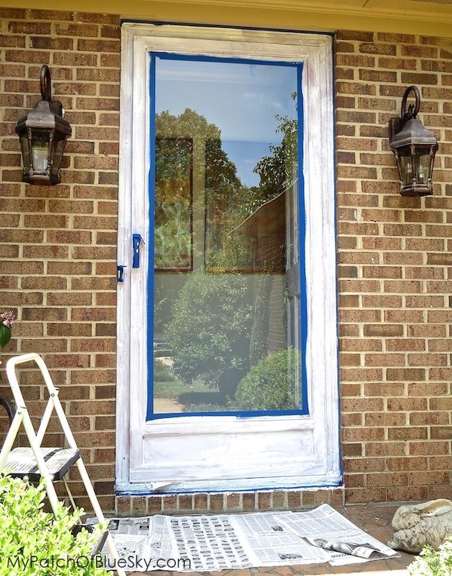 Prime front door and glass door.