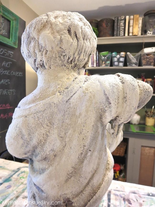 Artisan Enhancements fountain statue project