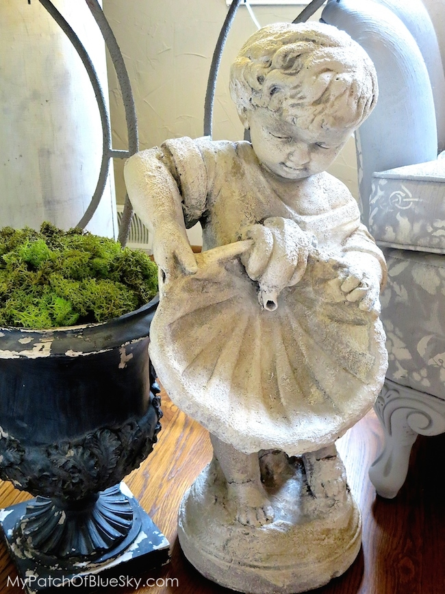 Artisan Enhancements fountain statue update