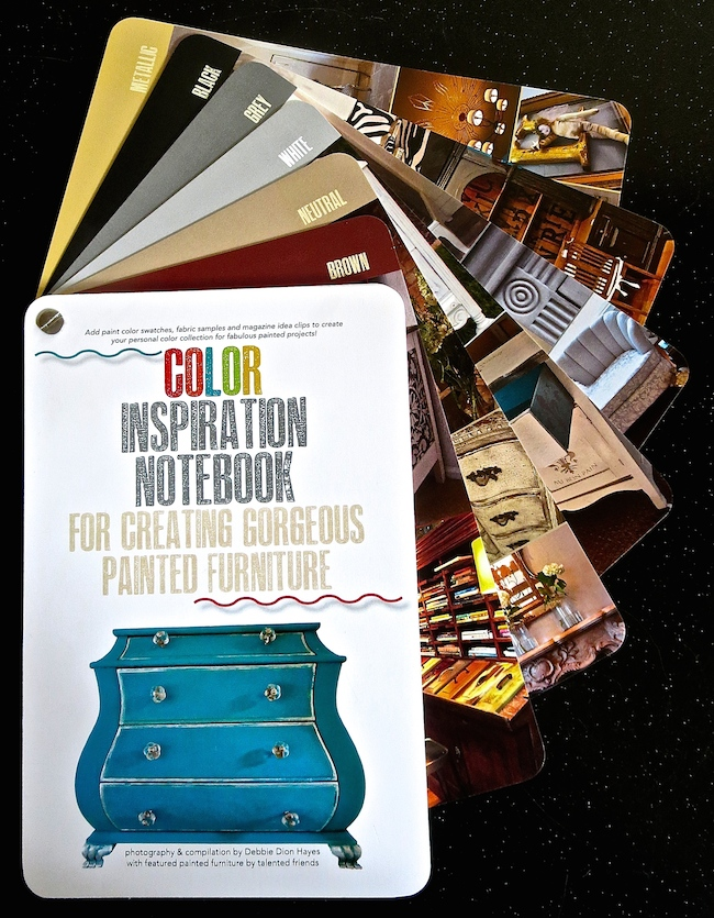 Other colors in the Color Inspiration Notebook