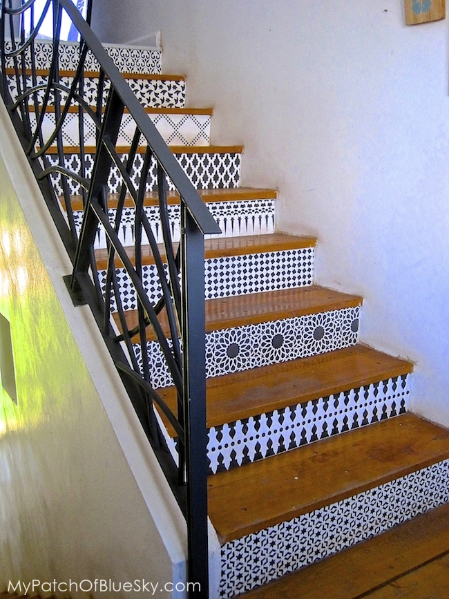 Photo of stairway pattern at Peacock Pavilions