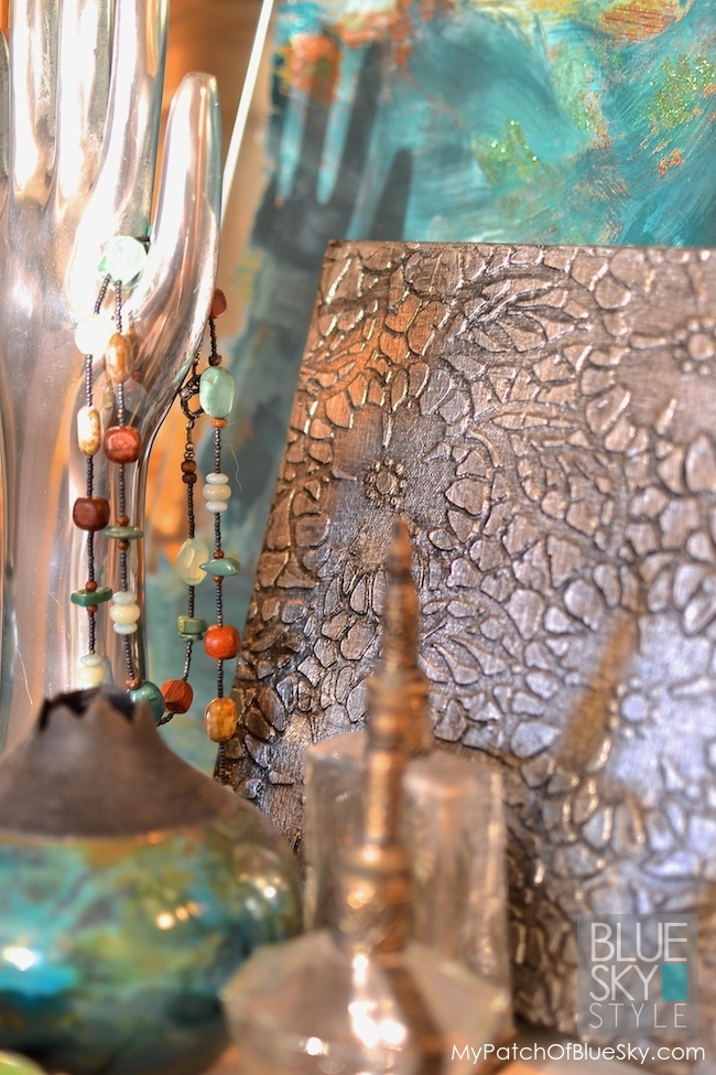 Industrial Lace Canvas Art