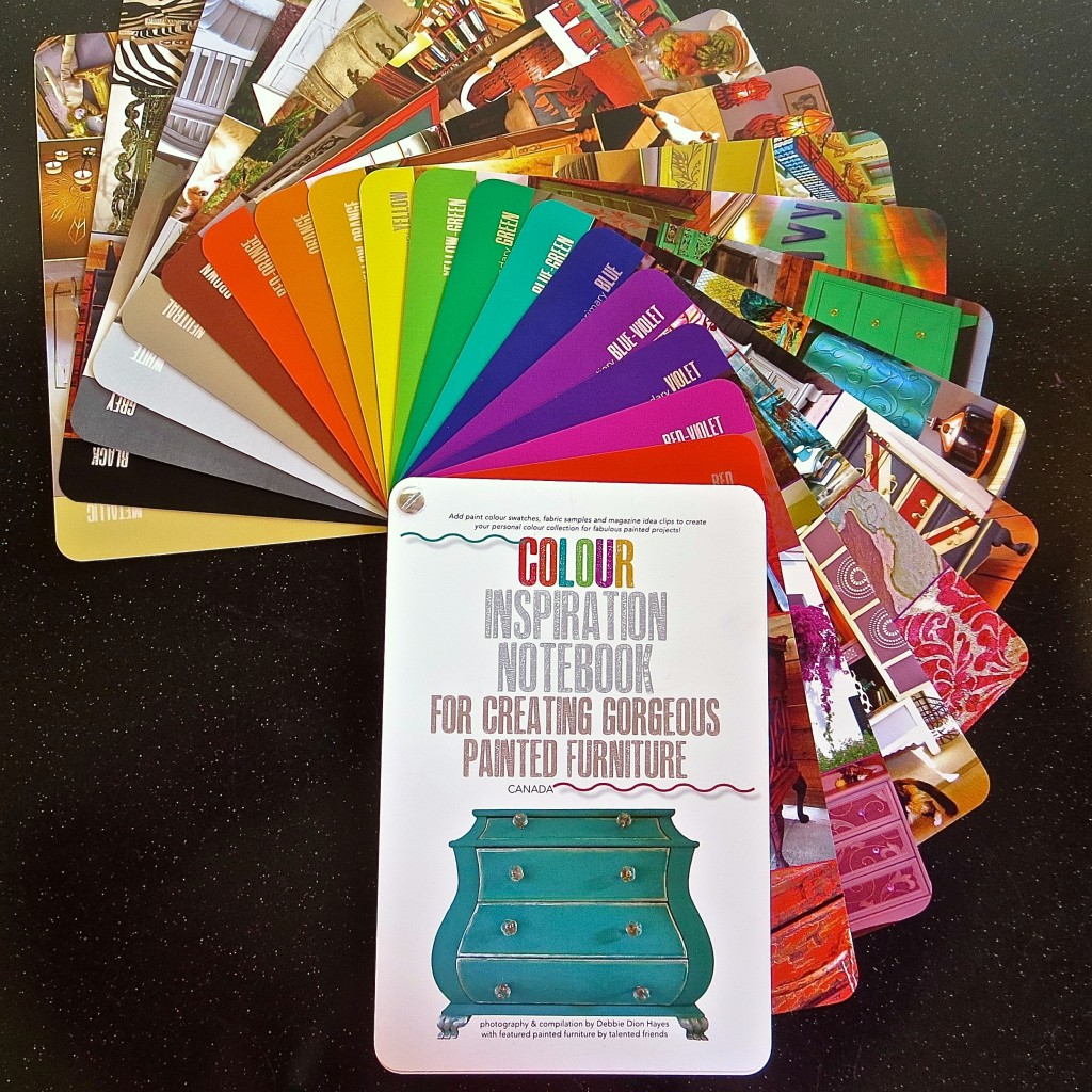 Colour Inspiration Notebook For Creating Gorgeous Painted Furniture/Canada