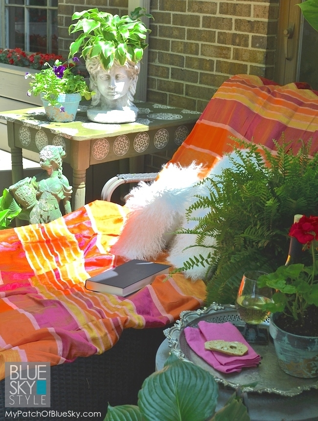 Summer Deck Projects Using Royal Design Studio Stencils, And More!