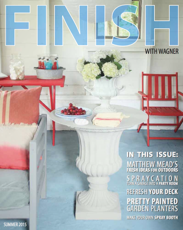 Matthew Mead's FINISH magazine for Wagner Spraytech.