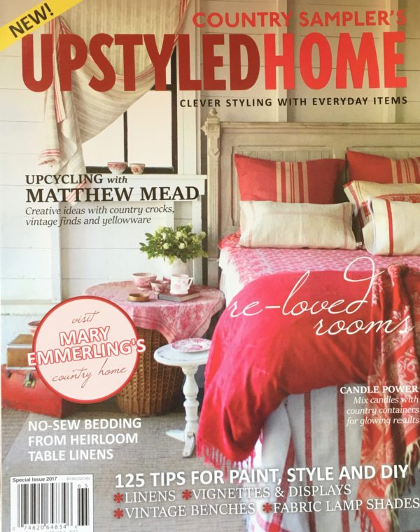 Matthew Meads' new Upstyled Home Magazine
