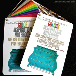 Color Inspiration Notebook for Creating Gorgeous Painted Furniture by Debbie Dion Hayes
