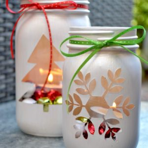 My Patch Of Blue Sky | Mason Jar Luminaries