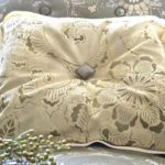 How To Stencil A Fabric Pillow Using A Royal Design Studio Stencil