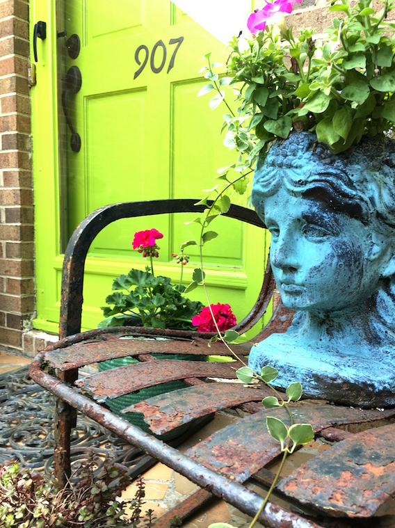 My Patch Of Blue Sky | Paint Your Front Door Project
