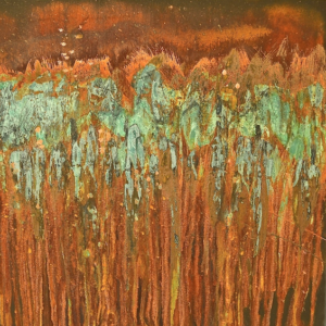 Use Rust And Patinas To Create An Art Canvas Project