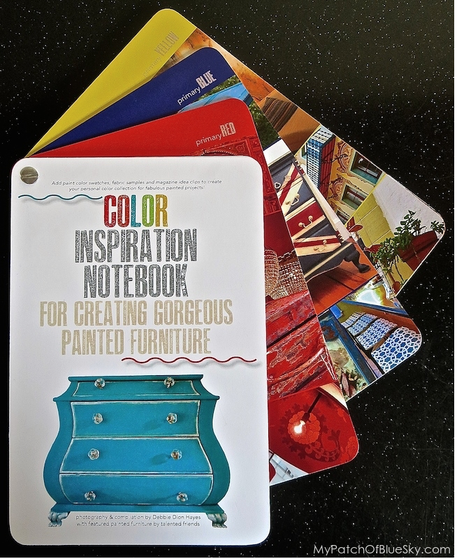 My Patch Of Blue Sky | The Color Inspiration Notebook for Creating Gorgeous Painted Furniture by Debbie Dion Hayes
