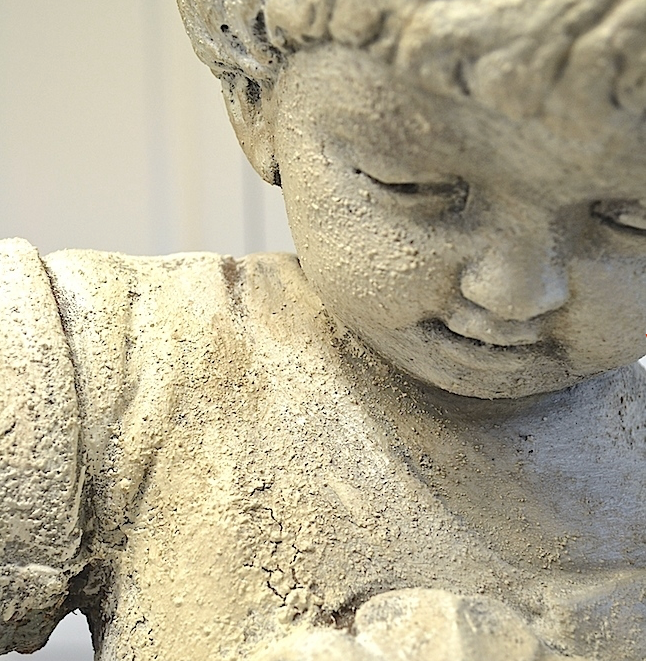 My Patch Of Blue Sky | How To Add Texture To A Garden Statue Using Artisan Enhancements Products