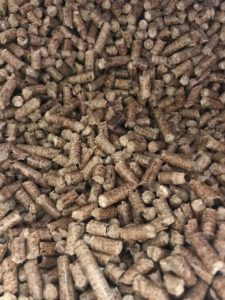 Hard wood pellets
