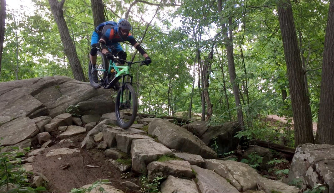 2018 Specialized Turbo Kenevo long travel e-mountain bike first ride review