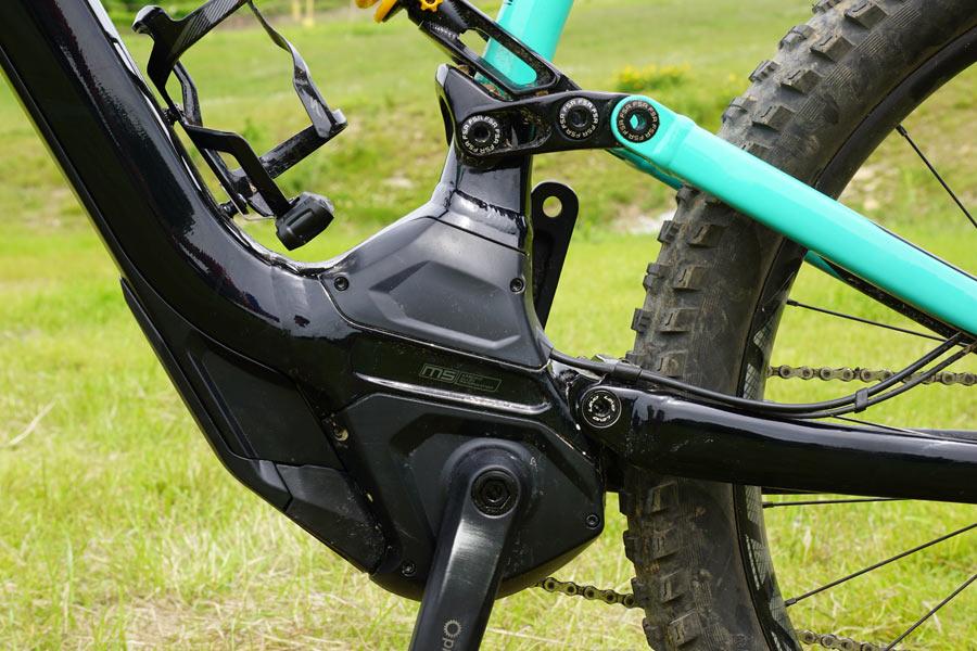 2018 Specialized Kenevo Turbo long travel e-mountain bike for enduro and bike park riding
