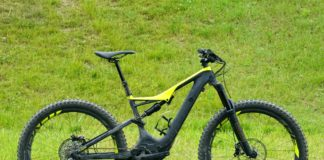 2018 Specialized Turbo Levlo FSR carbon fiber e-mountain bike