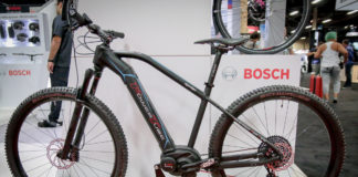Bosch Powertube integrated downtube battery system for e-bikes