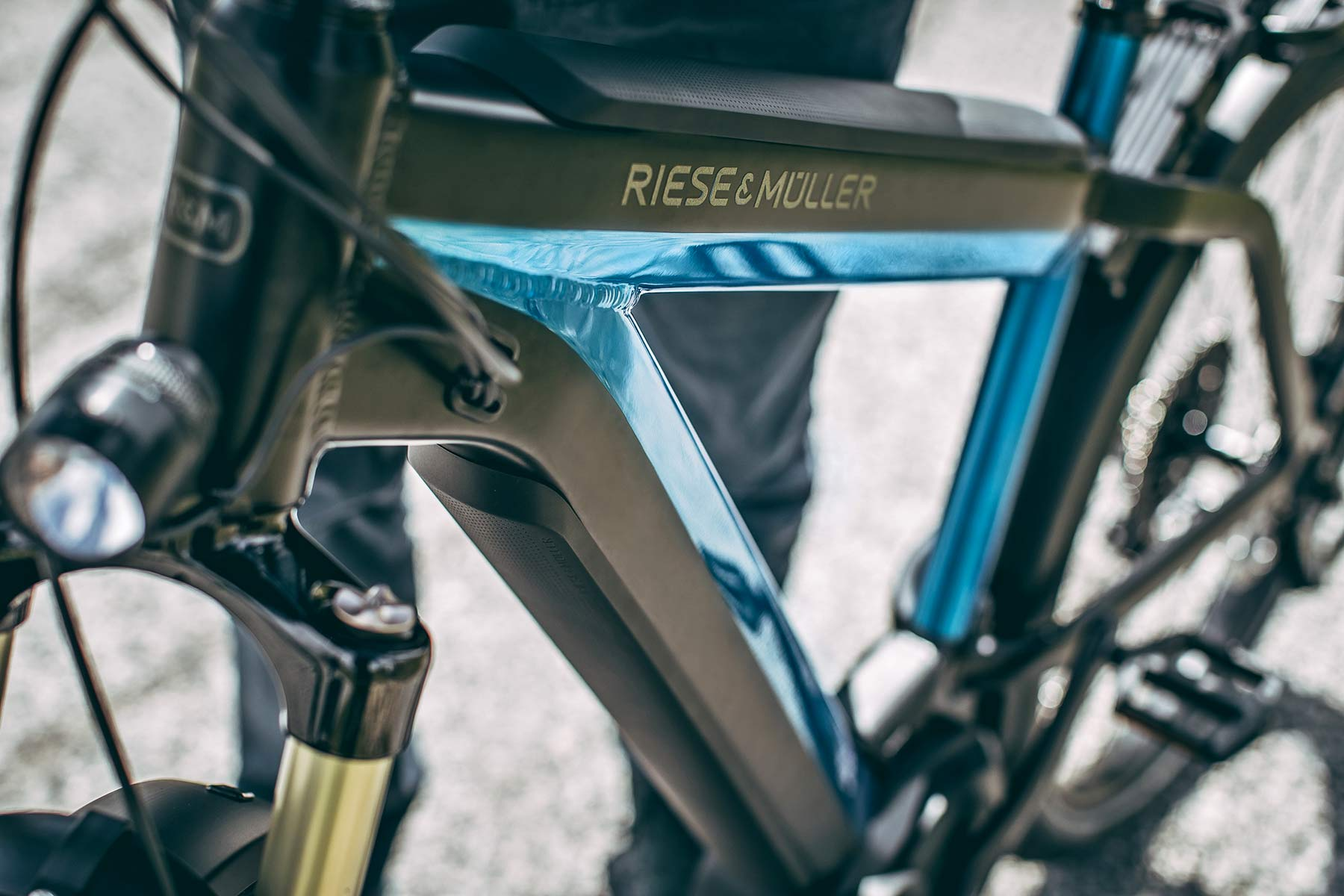 Riese & Mueller power off-road with New Charger