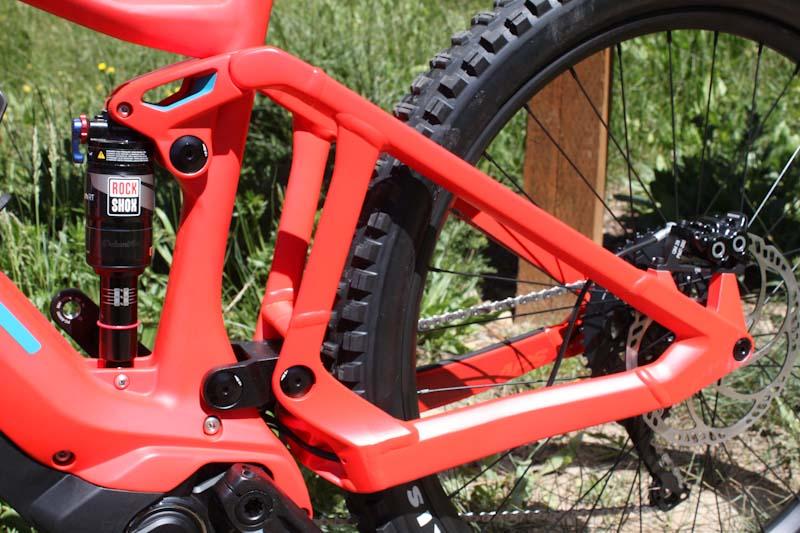 BMC Trailfox AMP, rear end