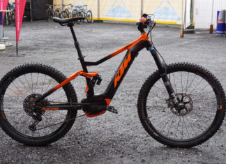 2019 KTM Macina 2971 eMTB enduro mountain bike