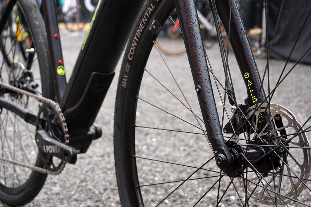 2019 Corratec e-Allroad gravel e-bike for dirt roads and paths
