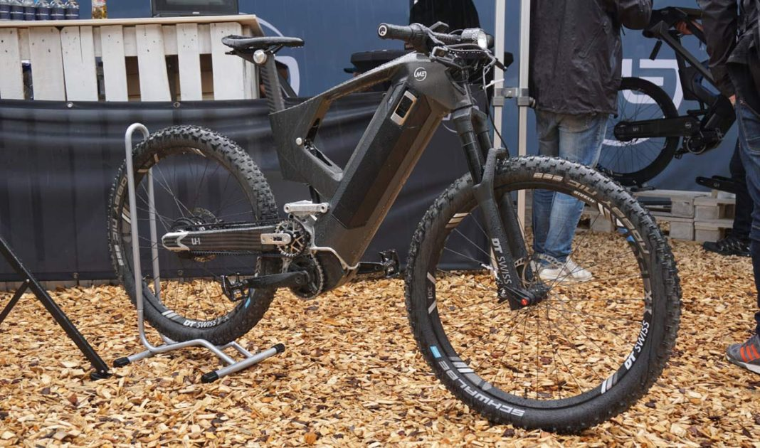 Mubea e-bike concept shows future of e-mobility