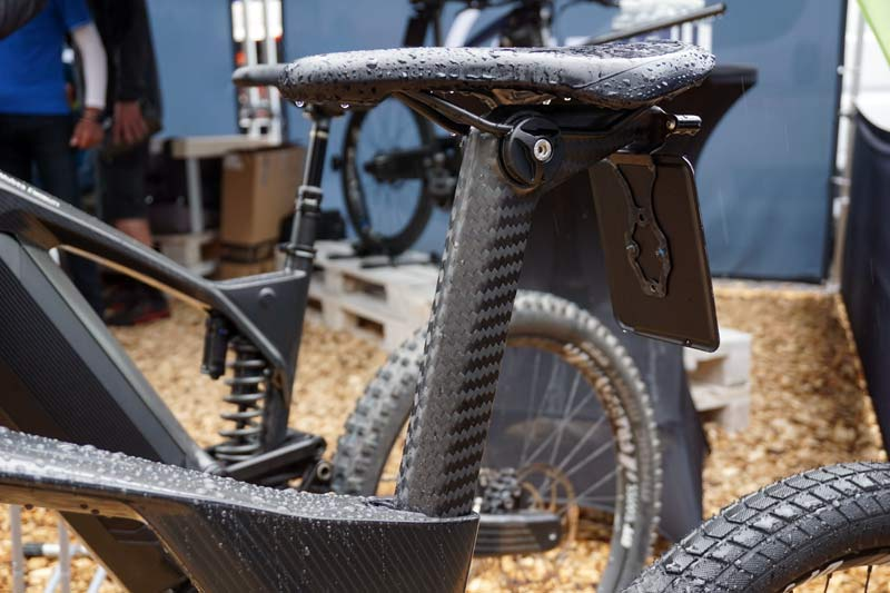 Mubea emobility e-bikes use f1 auto carbon fiber tech to create futuristic electric moto-inspired electric bicycles