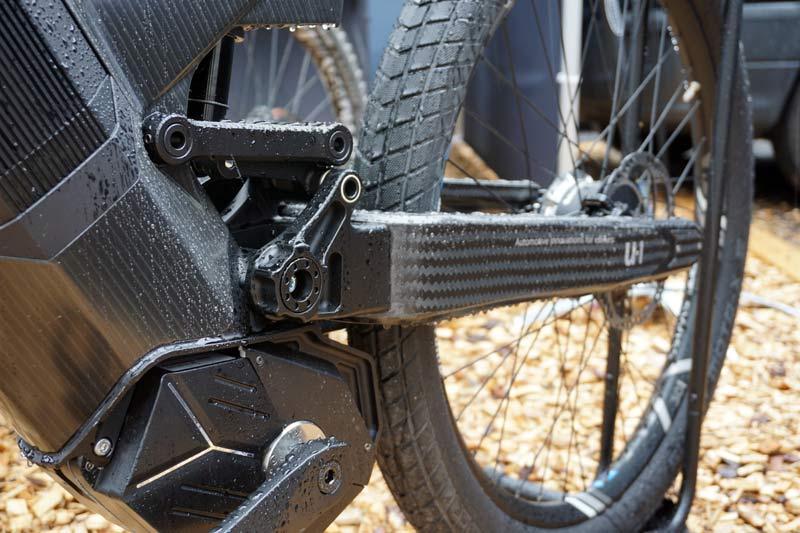 Mubea emobility e-bikes use f1 auto carbon fiber tech to create futuristic electric moto-inspired electric bicycles