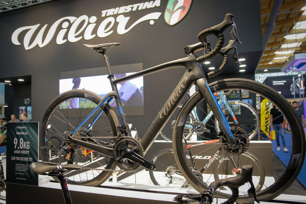 Lightest Road Bike >> Wilier Claims Lightest E Road Bike At 9 8kg Smart Features Like