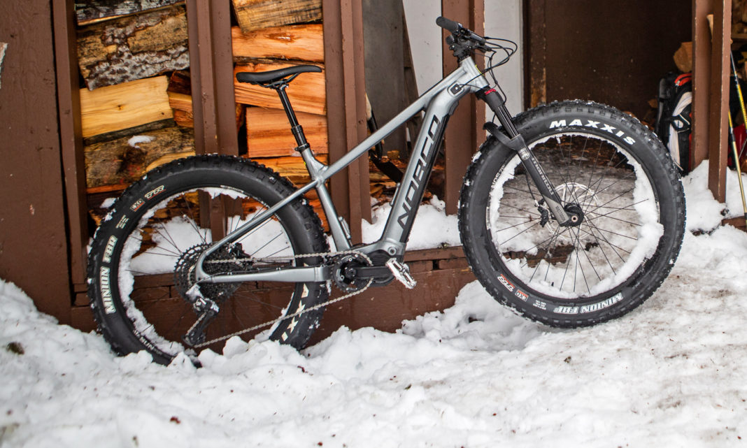 Norco Bigfoot Vlt E Fat Bike Expands Backcountry Range Of Winter