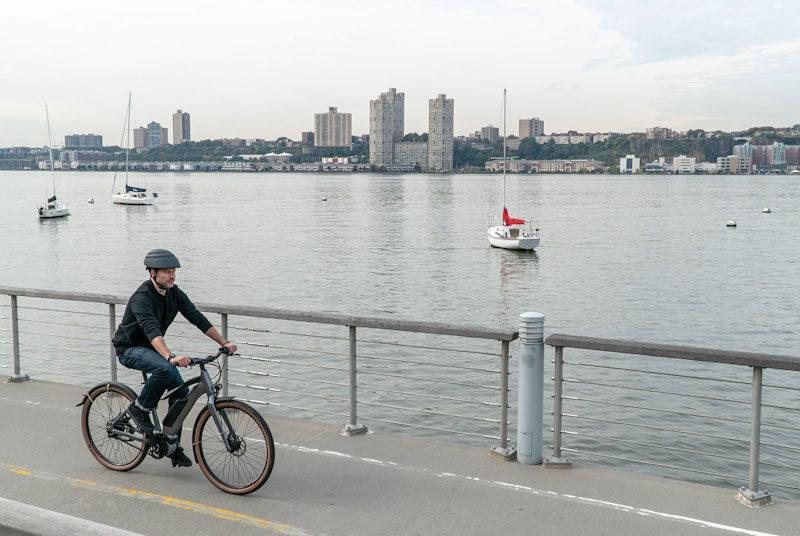 Priority Embark, guy riding