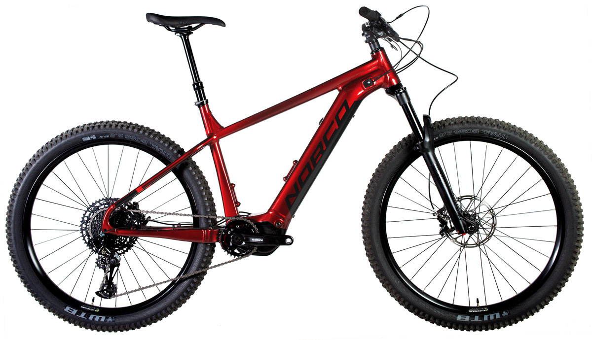 Norco Fluid VLT e-MTB combines big batteries, tires, & aluminum frame in performance hardtail