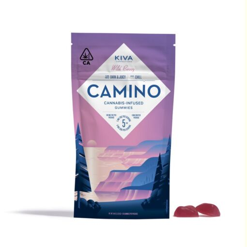 Wild Berry Camino Gummies
