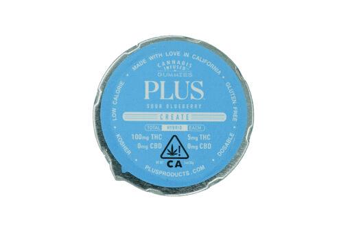 Plus- Blueberry Gummies